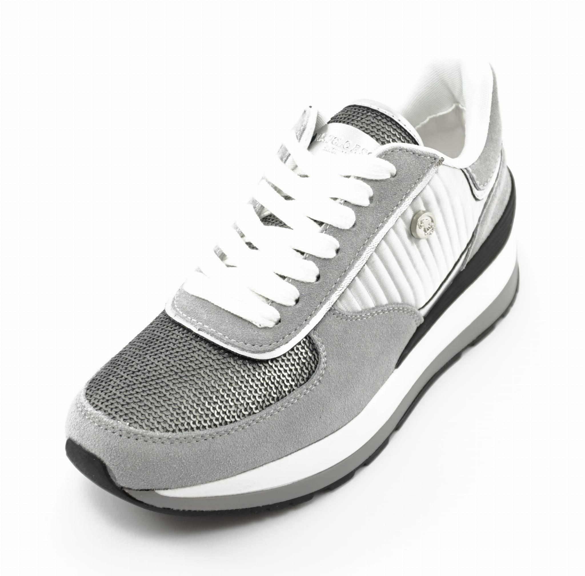 Buty sportowe damskie Sneakersy U S Polo Valery 3 paillettes